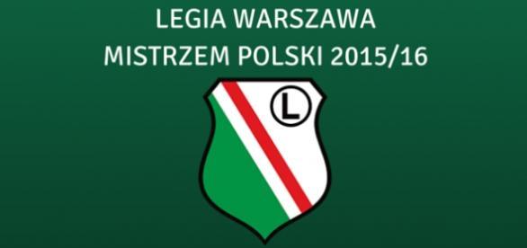Legia Warszawa została Mistrzem Polski sezonu 2015/16