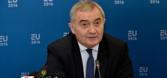 Ministrul Afacerilor Externe, Lazăr Comănescu. Foto: mae.ro
