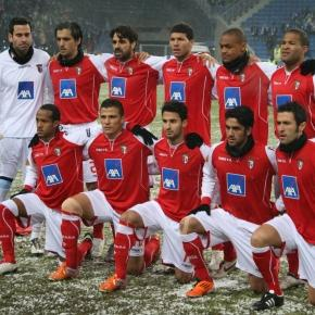 SC Braga em 2011, em jogo para a Liga Europa. Foto Roger Gorączniak