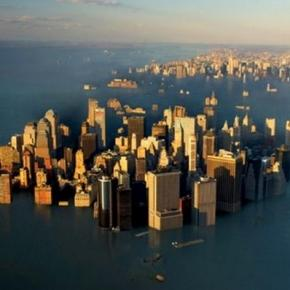 Lumea în pericol de a fi inghitita de ape