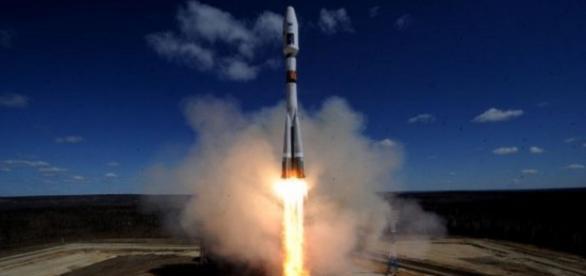Racheta ruseasca lansata in spatiu