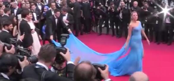 La belle Blake Lively au Festival de Cannes