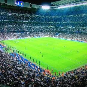 O Bernabéu recebe o Real Madrid-Manchester City da Champions League