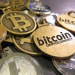 Physical representation of Bitcoin cryptocurrency (Flickr)