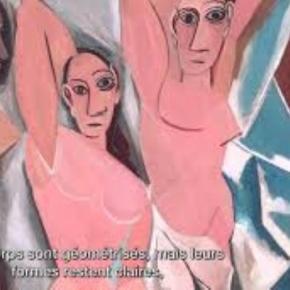 """Picasso's """"Les Demoiselles d'Avignon."""" Creative Commons"""
