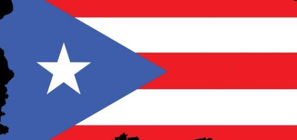 The flag of Puerto Rico|/Photo via Wikipedia.