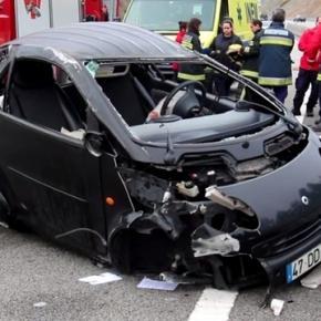 Acidente ocorreu ao Km 17,5 da A3 no sentido Porto-Valença