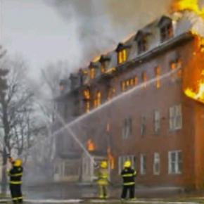 Incendiu de proporţii în Thailanda