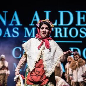 Soprano Teresa Nunes, uma das protagonistas do espectáculo