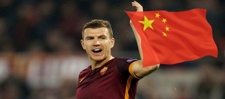Calciomercato Roma: offerte per Dzeko dalla Cina