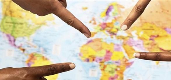 Carte Topographique de l'Afrique