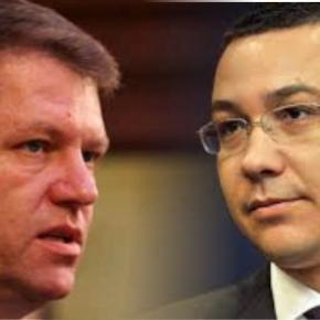Victor Ponta îl atacă dur pe Klaus Iohannis