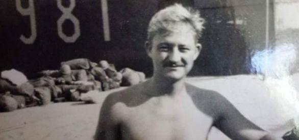 Jerry Wertenberger 981st MP Cam Ranh Bay Naval Base, Vietnam, 1970, source Jerry Wertenberger