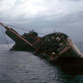 Boat capsizing courtesy of Wikipedia