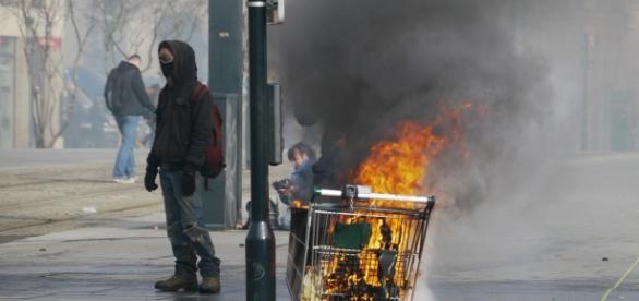 Imagen de archivo de una manifestación