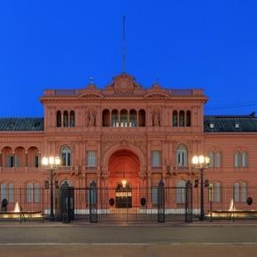 La Casa Rosada, il palazzo presidenziale di Buenos Aires
