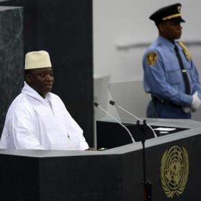 President Jammeh addressing UN General Assembly / Sulayman Gassama, statehouse.gov.gm
