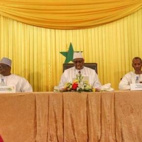 President Macky Sall addressing dialogue delegates / Alhagie Jobe, SMBC NEWS