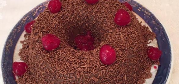 Brigadeirão de chocolate (Foto: Gshow)