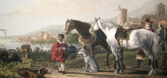 """Aelbert Cuyp's """"The Negro Page"""" Creative Commons"""