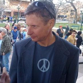 Libertarian presidential candidate Gary Johnson (Steve Terrell Wikimedia)