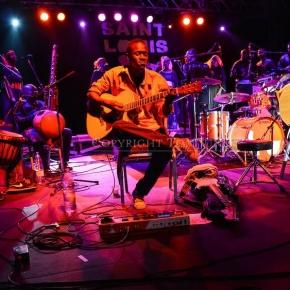 Musicians play at the St. Louis Jazz Festival in Senegal / Photo via Jazz Fest