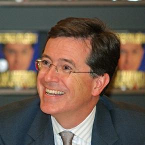 Stephen Colbert (David Shanknone, Wikimedia)