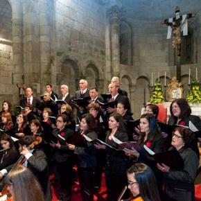 Aspecto da Igreja de Rates em Concerto