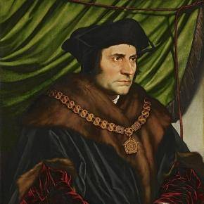 Portrait de Thomas More peint par Hans Holbein le jeune
