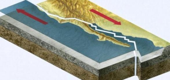 Fasia San Andreas e gata sa produca un seism major