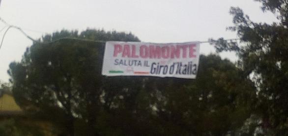 Palomonte saluta il Giro d'Italia