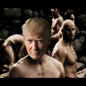 Donald Trump i mur przeciwko nielegalnym imigrantom.