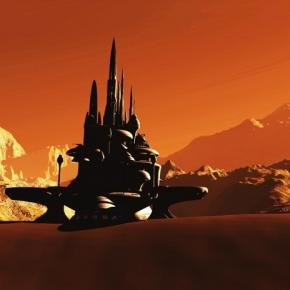 Baza extraterestra pe o planeta