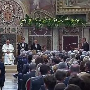 Papież odbiera gratulacje od Donalda Tuska za słowa o islamie.