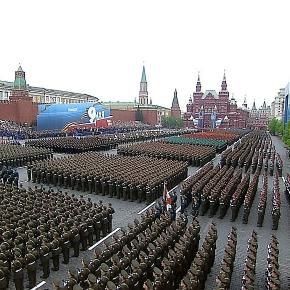 Parada militară de Ziua Victoriei din Piața Roșie