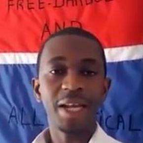 Sedia Boya,Screencap. Gambians for Peace & Justice/Youtube.