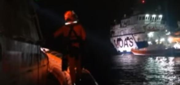 The Migrant Offshore Aid Station was one group involved with the rescues. (YouTube)
