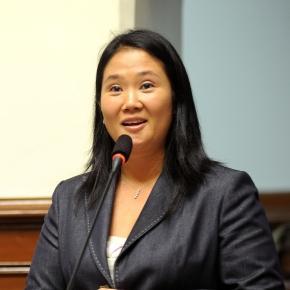 Keiko Fujimori,daughter of former president Alberto Fujimori, via Wikipedia