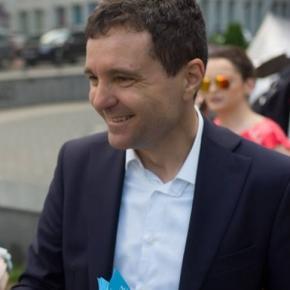 Președintele USB, Nicușor Dan. Foto: Facebook