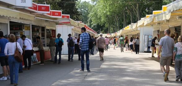 Feria del libro en el Parque del Retiro de Madrid. Foto: JEXA.