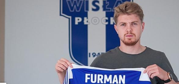 Dominik Furman został wypożyczony do Wisły Płock