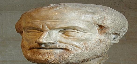 Portrait d'Aristote d'après un original en bronze de Lysippe