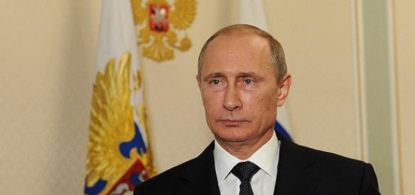 Vladimir Putin într-o întrevedere oficială la Kremlin