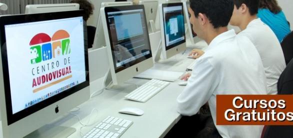 Formação gratuita no Centro Audiovisual de SBC