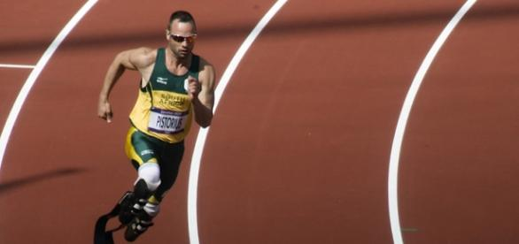 Oscar Pistorius / Photo courtesy Jim Thurston, via Global panorama, Flickre CC 2.0