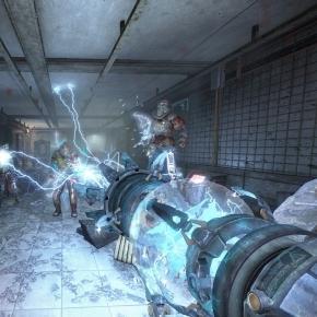 In game screen shot of Hard Reset Redux. Credit: Stan Rezaee