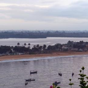Entre lagune, Océan Atlantique et fleuve Bandama en Côte d'Ivoire