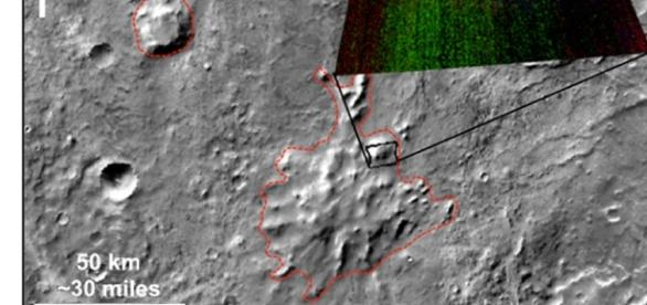 Ancient volcanoes on the Red Planet?