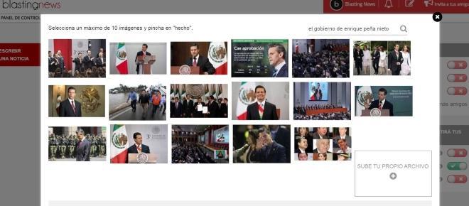 Lo hemos hecho posible: nueva aplicación para subir imágenes