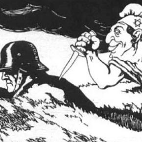 Nazistowska bajeczka o żydowskim ciosie w plecy